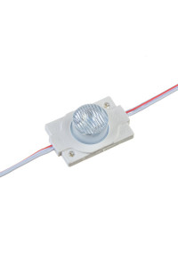 Светодиодный инжекторный кластер 12В белый 1led smd3030 1.5Вт герметичный