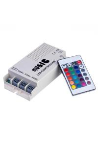 Контроллер музыкальный RGB 9А/108Вт (RR 24 кнопки)