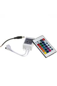 Контроллер RGB 12А/144Вт (IR 24 кнопки)