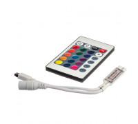 Контроллер мини RGB 6A-72Вт (IR 24 кнопки)