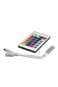 Контроллер RGB мини 6А/72Вт (IR 24 кнопки)
