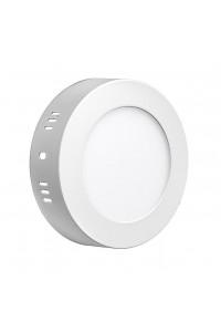 Светильник настенно-потолочный 6Вт 4000К круг негерметичный