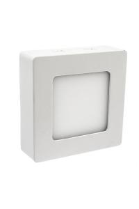 Светильник настенно-потолочный 6Вт 4000К квадрат негерметичный