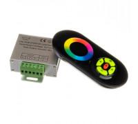 Контроллер черный RGB 18A-216Вт