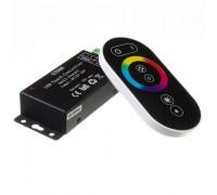 Контроллер черный RGB 18А/216Вт, (6 кнопок)