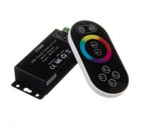 Контроллер черный RGB 18А/216Вт, (8 кнопок)