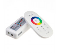 Контроллер белый RGB 18А/216Вт, (8 кнопок)