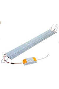 Лед линейки 28Вт для замены растровых ламп Т8