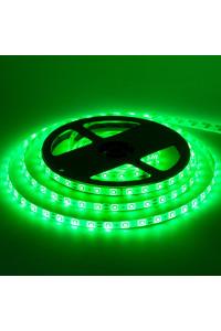 Лента светодиодная зеленая 12V smd2835 60лед герметичная