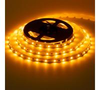 Лента светодиодная желтая 12V smd2835 60лед негерметичная