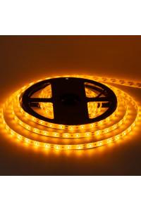 Лента светодиодная желтая 12V smd2835 60лед герметичная