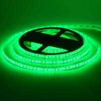 Лента светодиодная зеленая 12V smd2835 120лед герметичная