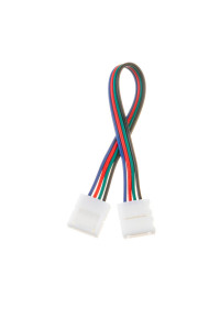 Led коннектор RGB 10 мм провод+2 зажима