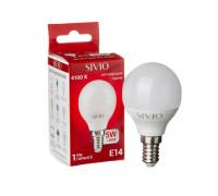 Лампа светодиодная Sivio нейтральная белая G45 5W E14 4100K