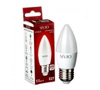 Лампа светодиодная Sivio нейтральная белая C37 6W E27 4100K
