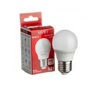 Led лампа SIVIO теплая белая 5W E27 G45 3000K