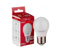 Led лампа SIVIO теплая белая 6W E27 G45 3000K