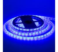 Led лента синяя 12V smd5050 60LED/m IP20, 1м