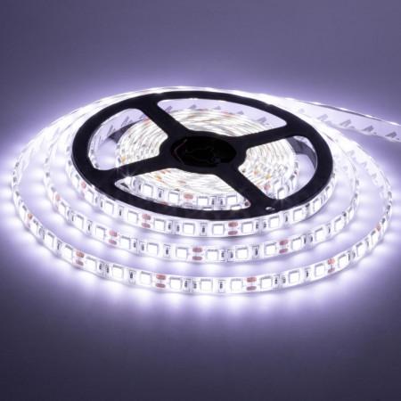 Купить Лента светодиодная белая 12V smd5050 60лед негерметичная