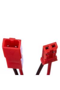Led коннектор папа+мама 12В 2pin красный