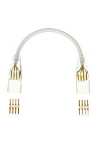 Соединительный коннеткор для светодиодной ленты 220V smd5050 (2 разъема+2 шт. 4pin)