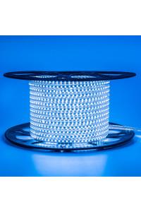 Лента светодиодная синяя 220V AVT smd2835 120лед 4Вт герметичная