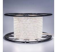 Led лента белая 220V smd2835 120LED/m 12Вт/m IP65, 1м