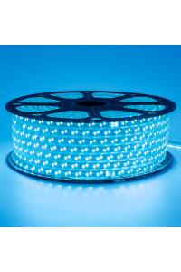 Лента светодиодная синяя 220V smd2835 120лед 12Вт герметичная