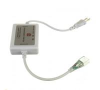 Адаптер питания Led ленты 220V RGB AVT smd5050-72 LED/m + контроллер + коннектор 4pin