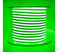 Led неон зеленый AVT 220V smd2835 120LED/m 7Вт/m IP65, 1м