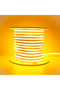 Led неон желтый AVT 220V smd2835 120LED/m 7Вт/m IP65, 1м