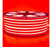 Led неон красный 220V smd2835 120LED/m 12Вт/m IP65, 1м