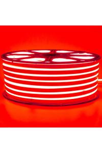 Лента неоновая красная 220V smd2835 120лед 12Вт герметичная