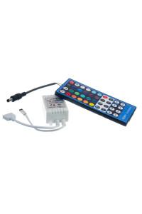 Контроллер RGBW 8А/96Вт (IR 40 кнопок)