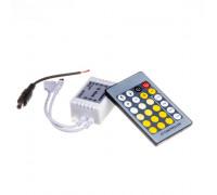 Контроллер W+WW 6A-72Вт, (IR 24 кнопки)
