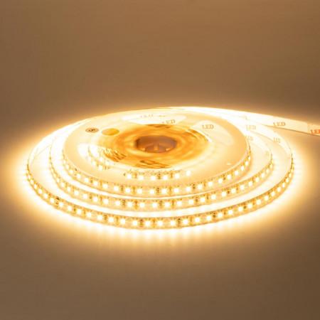 Купить Лента светодиодная белая теплая 12V AVT-New smd2835 120лед негерметичная