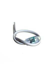 Светодиодный кластер 12В белый 1led 0.08Вт герметичный