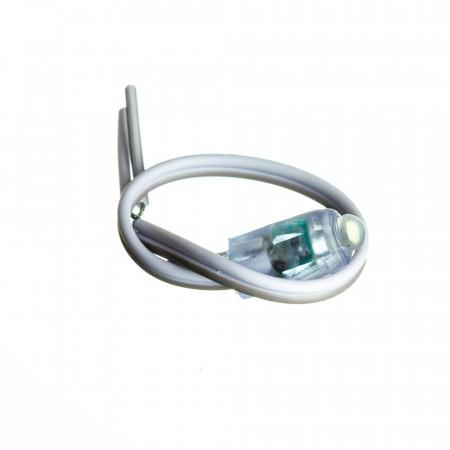 Купить Светодиодный кластер 12В белый 1led 0.08Вт герметичный