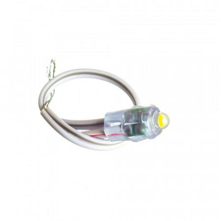 Купить Светодиодный кластер 12В белый теплый 1led 0.08Вт герметичный