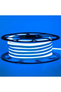 Лента неоновая синяя AVT-1 220V smd2835 120лед 7Вт герметичная