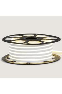Лента неоновая белая 12V AVT- smd2835 120LED/m 6Вт/m 6х12мм IP65 силикон
