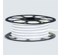 Неоновая светодиодная лента белая нейтральная 12V AVT 120LED/m 6W/m 6*12 IP65 silicone, 1м