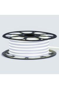 Лента неоновая нейтральная белая 12V smd2835 120лед 6Вт 8*16 PVC герметичная