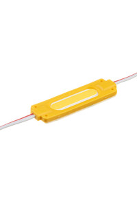Светодиодный кластер 12В желтый 1led COB 2Вт герметичный