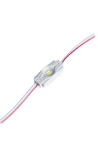Светодиодный кластер 12В белый холодный 1led smd2835 1Вт герметичный