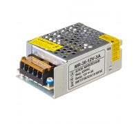 Блок питания led 12V MR/3A 36 Bт IP 20