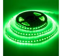 Лента светодиодная зеленая 12V AVT smd3528 120лед негерметичная, 1м