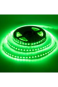 Лента светодиодная зеленая 12V AVT smd3528 120LED/m IP20, 1м