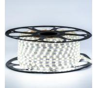 Led лента белая 220V smd2835 48LED/m 6Вт/m IP65, 1м