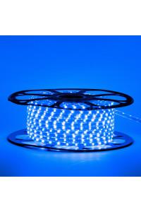 Led лента синяя 220V smd2835 48LED/m 6Вт/m IP65, 1м
